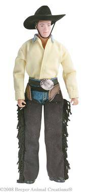 breyer - austin - cowboy 8'' figure on lovemypets.com