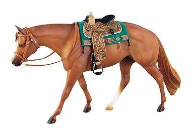 Western Show Bridle For Traditional-Sized Models