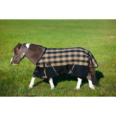 TuffRider 600D Plaid Thermo Manager Lined Miniature Blanket