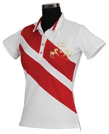 Equine Couture Ladies X-Press Polo Short Sleeve