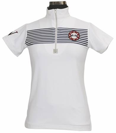 Equine Couture Ladies Patriot Polo Short Sleeve