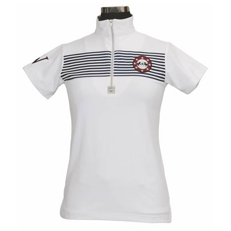 Equine Couture Kids Short Sleeve Patriot Polo Shirt