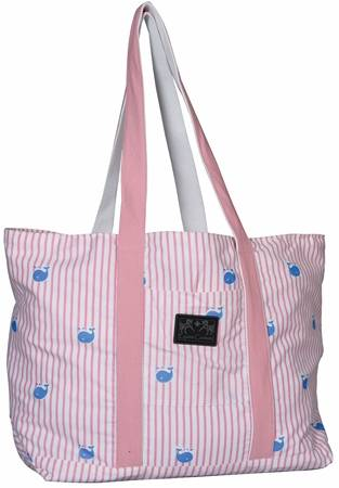 Equine Couture Stripe Tote Bag