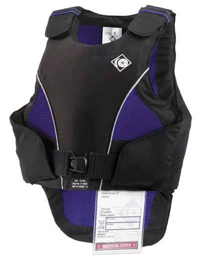 Charles Owen Ultralite Body Protector - Kids