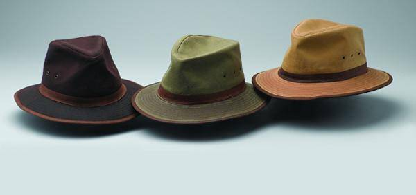 Outback Oilskin Madison River Hat