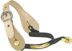 Abetta Engraved Spurs With Straps