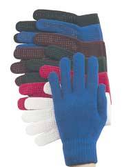 Pimple Palm Knit Stretch Glove