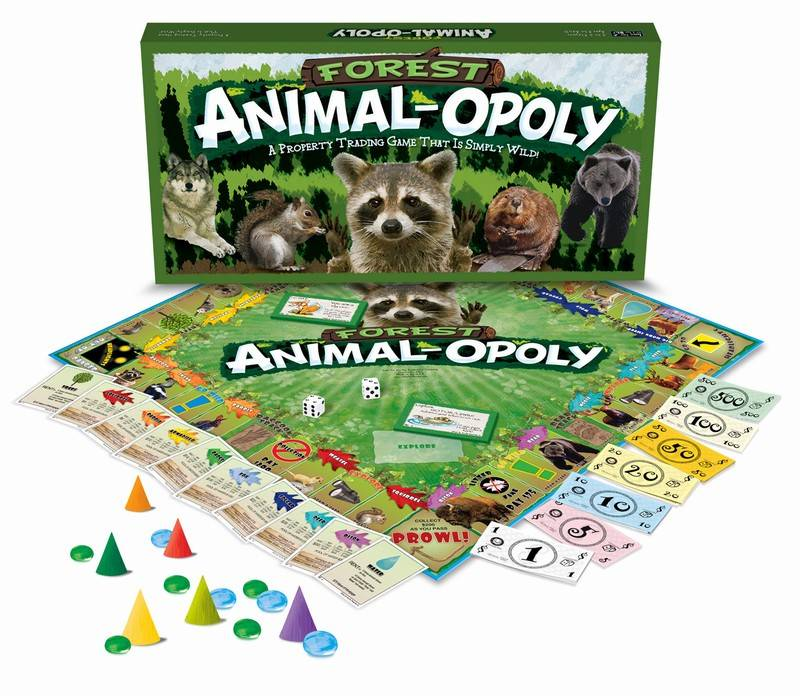 FOREST ANIMAL-OPOLY : A Board Game - Get Wild!