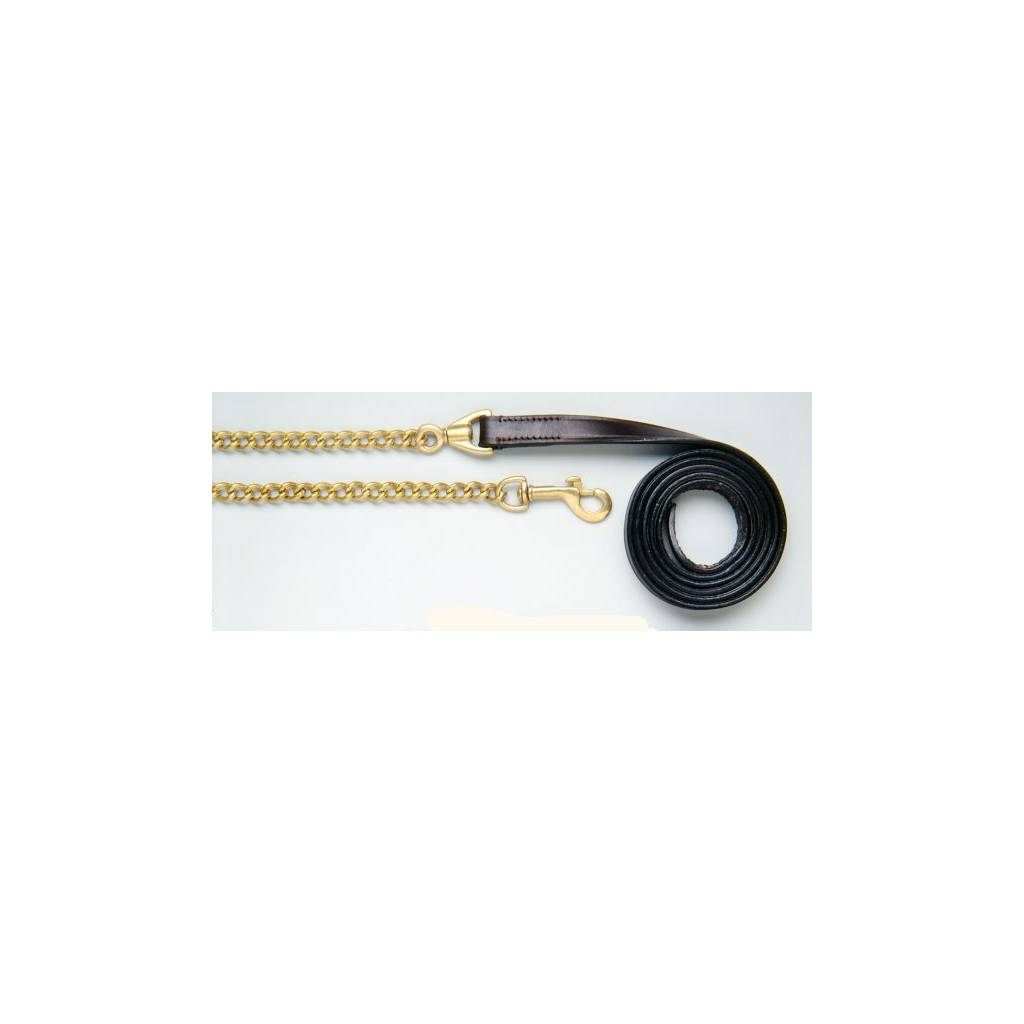Royal King Leather Lead Line