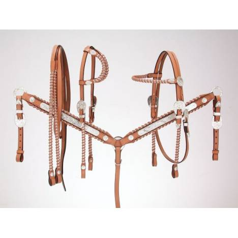 Royal King Silver Laced Show Reins
