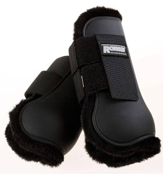 Roma Fleece Lined Open Front Boot