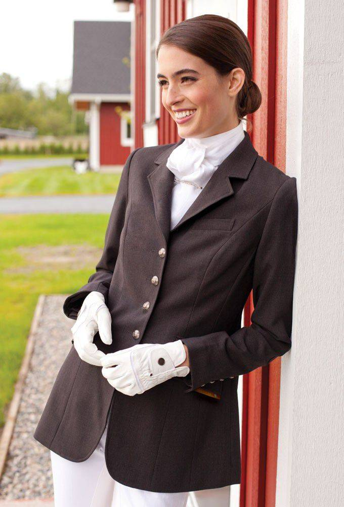 Asmar Ladies Dressage Show Jacket -Black/XLarge