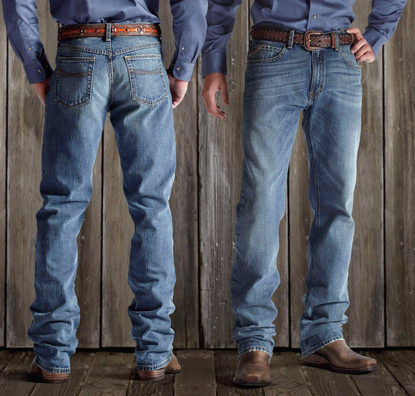 Ariat M2 Relaxed Straight Cut Jeans - Men's