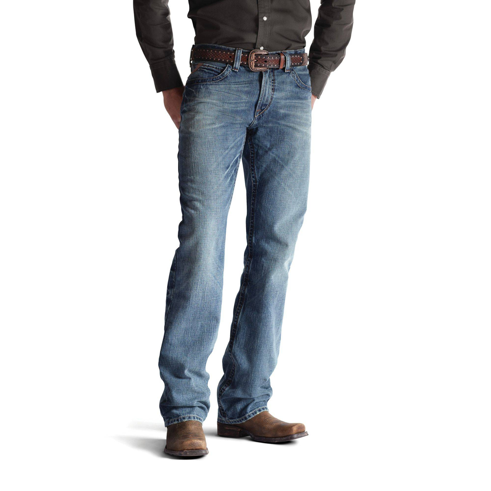 Ariat M4 Low Rise Jeans - Men's, Scoundrel