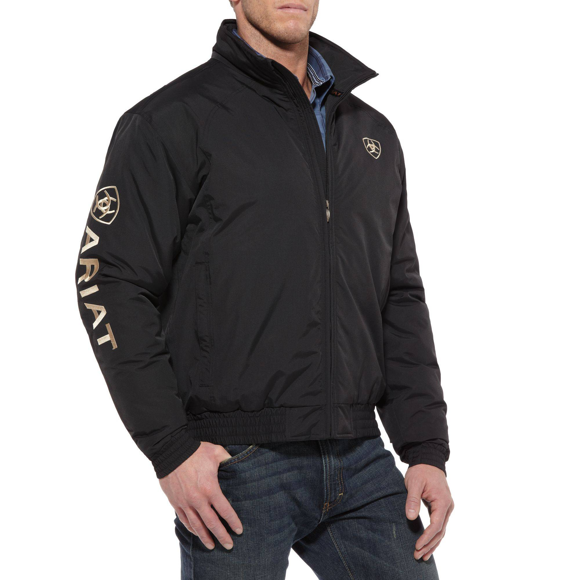Ariat Team Jacket - Men's, Black
