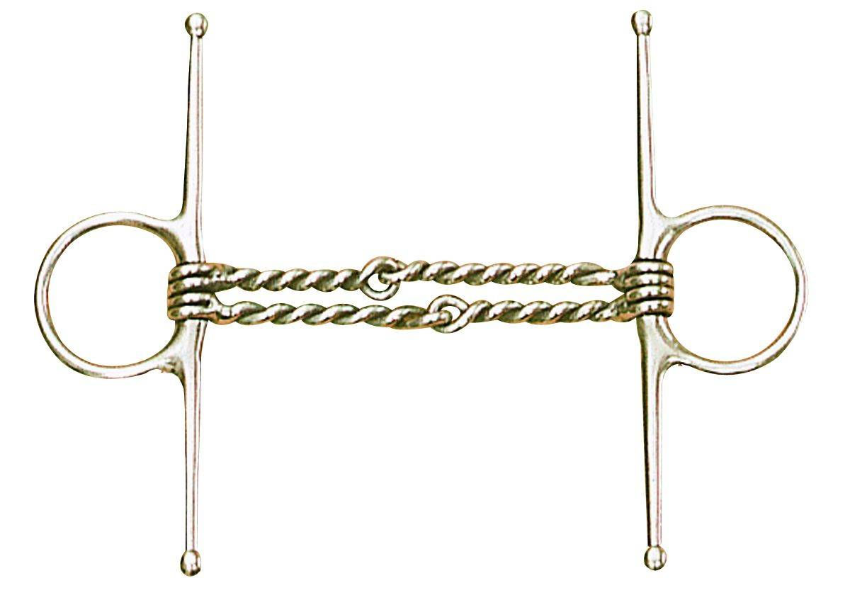 Centaur Double Twisted Wire Full Cheek Bit