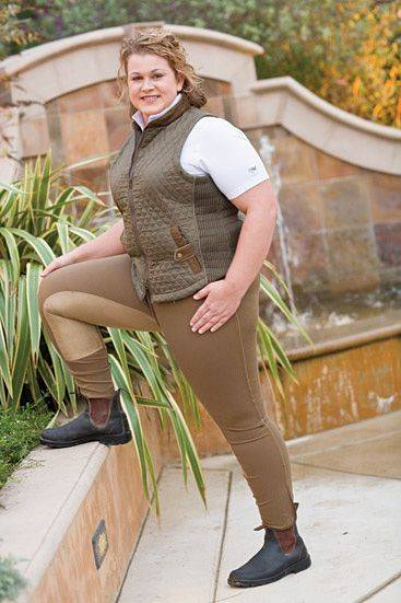 Goode Rider Woman Plus Size Quilted Vest