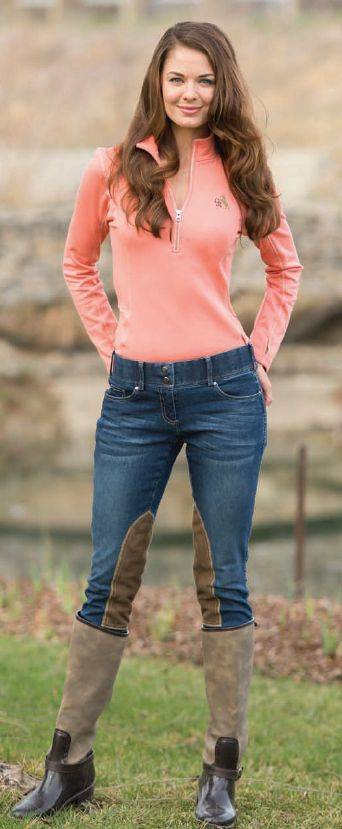 Goode Rider Ladies Equestrian Knee Patch Jeans