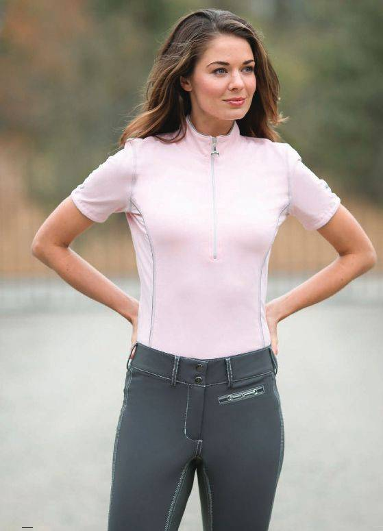 Goode Rider Ideal Show Shirt - Ladies, Short Sleeve