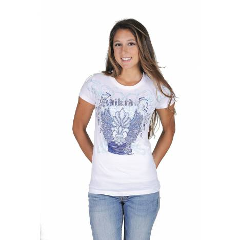 Adiktd Ladies Cotton Jersey Tee Shirt