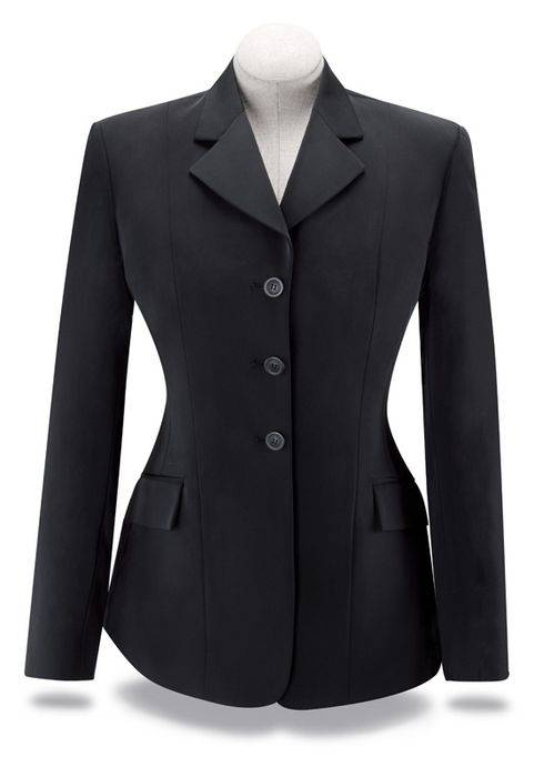 RJ Classics Xtreme Softshell Show Coat - Girls, Black