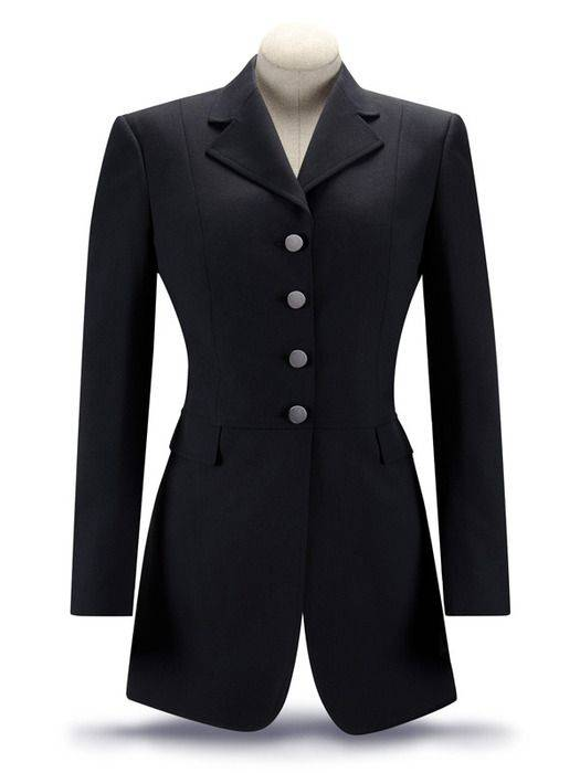 RJ Classics Essential Washable Dressage Coat -Ladies Plus Size