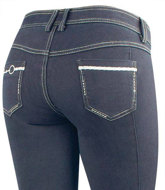 Irideon Women's Stretch Denim Bit & Reins Boot Cut Breech