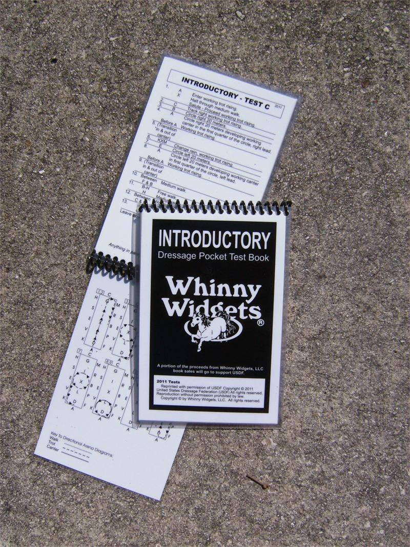 Whinny Widgets 2015 Dressage Test Book - Intro Level