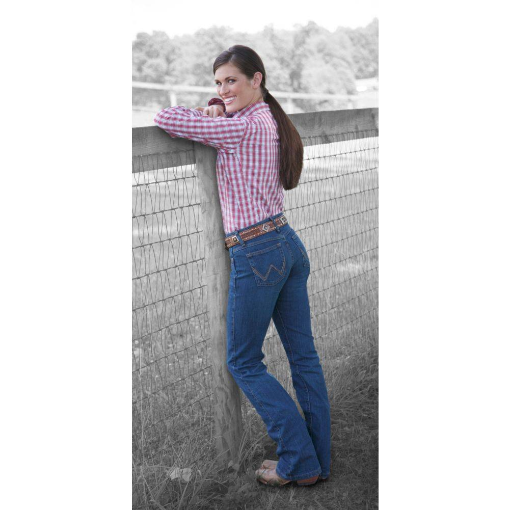 Wrangler Ladies Q-Baby Ultimate Riding Jeans (WRQ20)