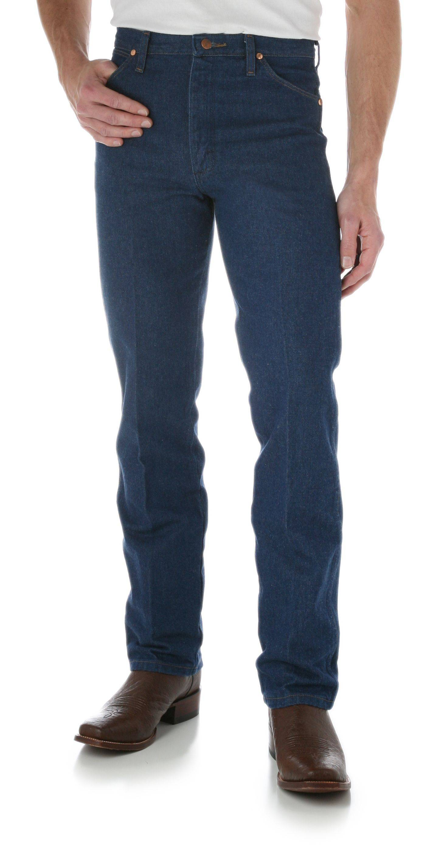 Wrangler Men's Tall and Slim Cowboy Cut Jeans