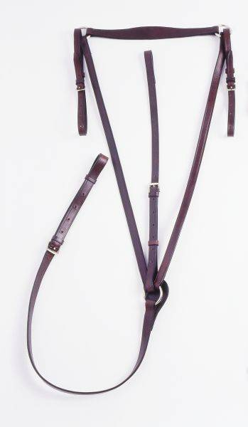 Silver Fox Standing Breastplate Martingale