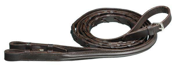 Silver Fox X-Long Raised Laced Rein