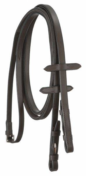 English Reins with Rubber Grip