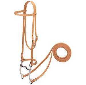 Weaver Harness Leather Browband Bridle with Single Cheek Buckle