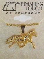 Finishing Touch Mare & Foal Pendant
