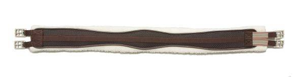EquiRoyal Shaped Fleece English Girth