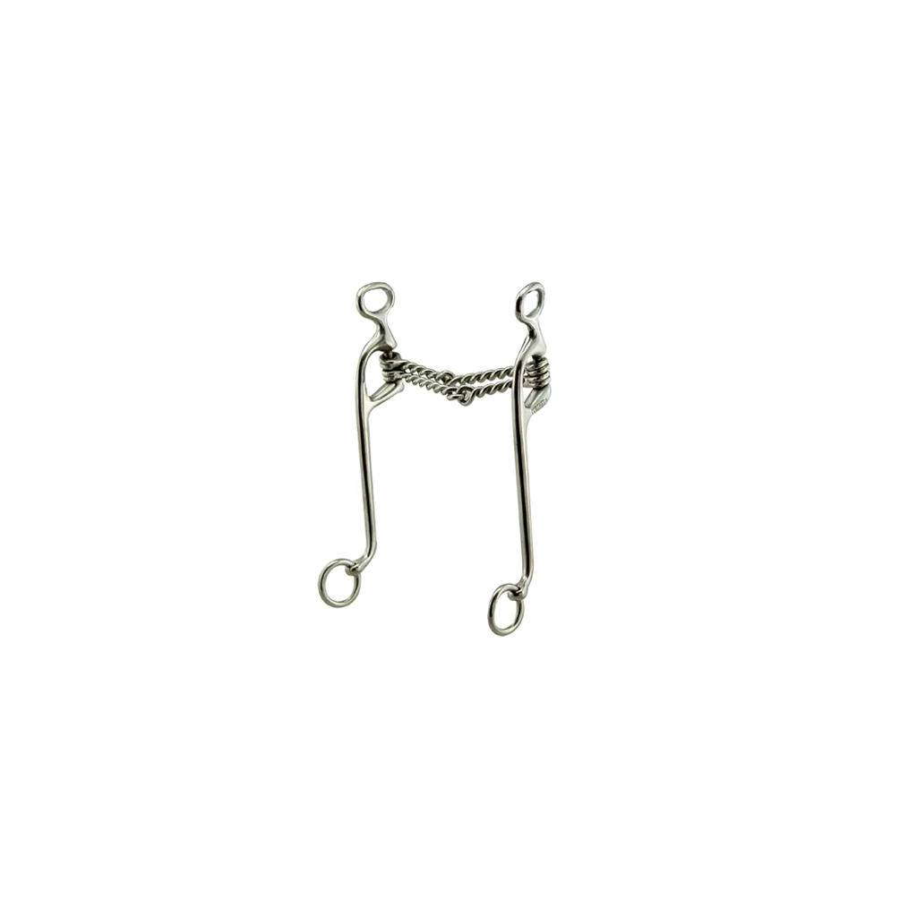 Coronet Double Twisted Wire Walking Horse Bit
