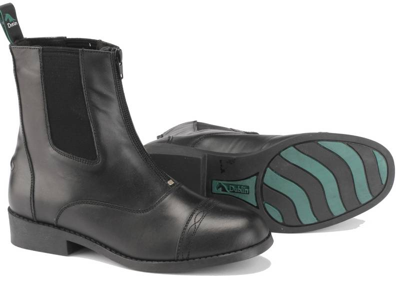 Dublin Advance Zip Front Paddock Ladies Boots