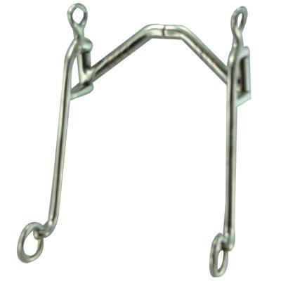 Robart Robart Pinchless Arched Port Walking Horse Bit