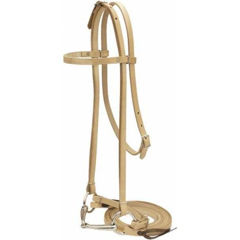 Billy Cook Saddlery Pony Bridle With loose ring snaffle