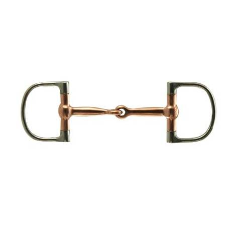 Coronet Copper Mouth Dee Snaffle Bit