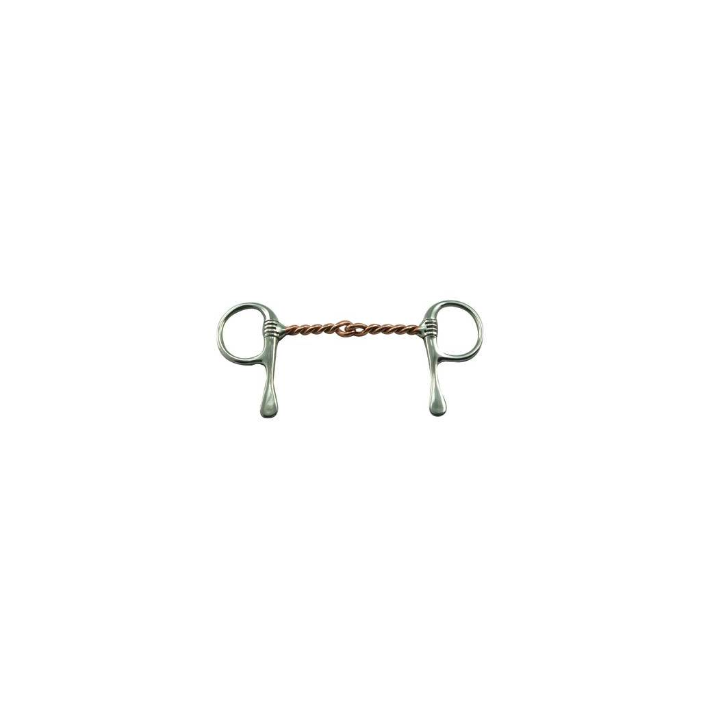 Coronet Single Twisted Copper Wire Half Cheek Bit