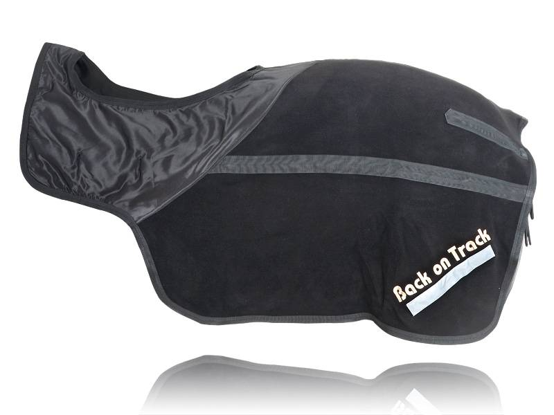 Back On Track Exercise Sheet - Fleece - Black - 72