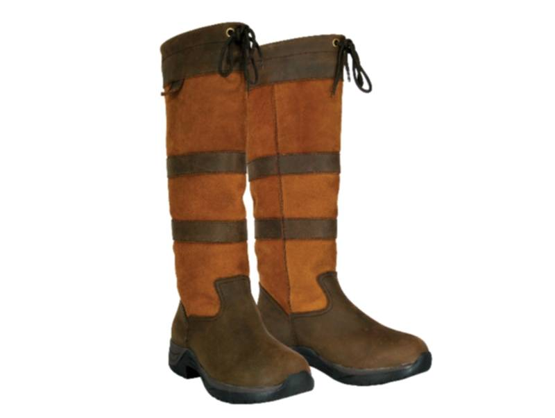 Dublin Ladies River Tall Boots - FREE Roma Palm Grip Drawstring Grooming Set Valued at $50!