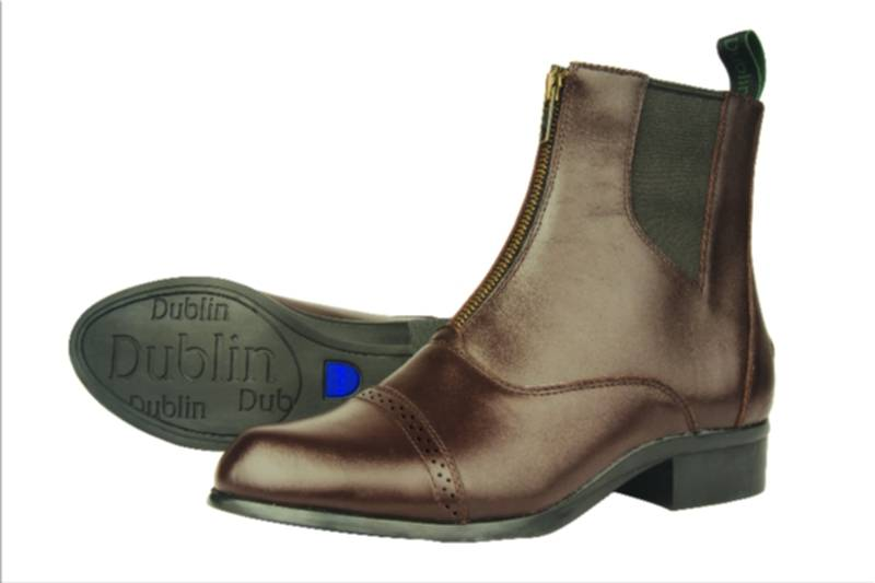 Dublin Assurance Zip Front Ladies Paddock Boot