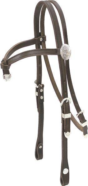 Billy Cook Saddlery Crossed Browband Show Headstall