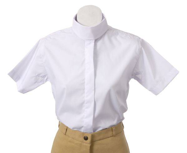 EquiRoyal Kids Short Sleeve Riding Blouse