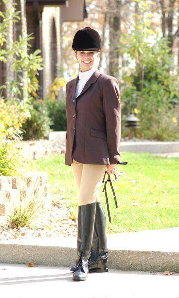 OPEN BOX ITEM: EquiRoyal Ladies Hunt Coat