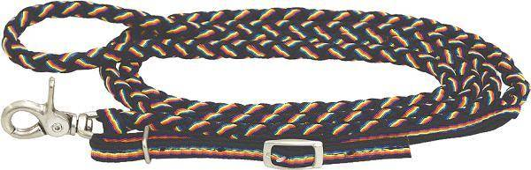 Abetta Braided Nylon Reins