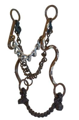 Roping Collection by Metalab Antique S Shank Chain Bit